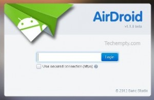 airdroid-login