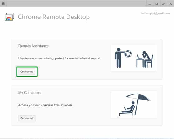 Chrome Remote Desktop Windows