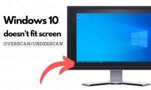 fix amd radeon resize screen underscan